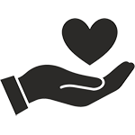 charitable hand